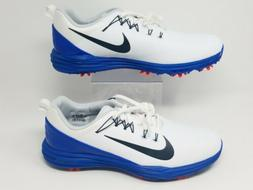 Nike Lunar Command 2 Golf Shoes White Blue New Mens Size 10.