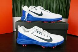 lunar command 2 golf shoes white blue