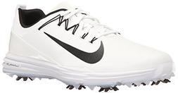 NIKE Men's Lunar Command 2 Golf Shoe, White/Black/White, 11.