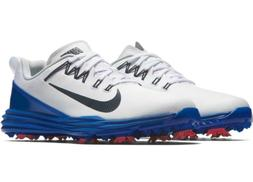 Nike Lunar Command 2 Mens Golf Shoes White Blue Black 849968