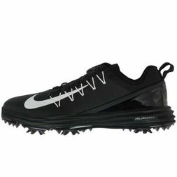 Nike Lunar Command 2 Women's Golf Shoes Black White Size 8.5
