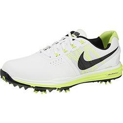 New Nike Men's Lunar Control 3 Golf Shoes-White/Black/Volt S