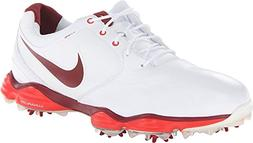 Nike Golf Men's Nike Lunar Control II Golf Shoe,White/Venom
