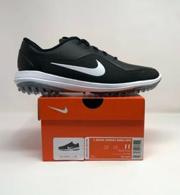 Nike Lunar Control Vapor 2 Golf Shoes Men's Size 11 Black Wh