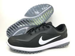 Nike Lunar Control Vapor 2 Golf Shoes Size 9 Black White Spi