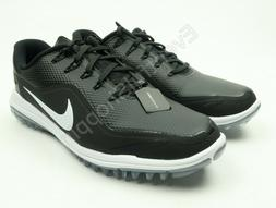 Nike Lunar Control Vapor 2 Golf Shoes Spikeless Black White