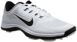 Nike Golf Men's Lunar Cypress High Performance Golf Shoe,Whi