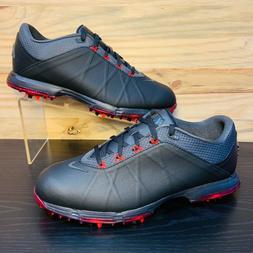 Nike Lunar Fire Men's Golf Shoes Waterproof Black Red Multi