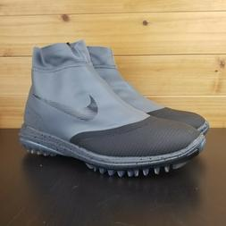 lunar vaporstorm golf shoes gray black 918623