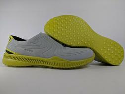 ECCO M Golf S-Drive Spikeless Golf Shoes Concrete Kiwi Mens