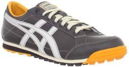 ASICS Men's Matchplay Classic Golf Shoe,Dark Brown/Sun,14 M