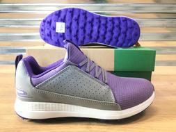 Skechers Max Mojo Golf Shoes Gray Purple Womens SZ