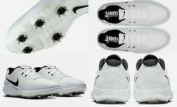 Nike men's $104 ROSHE G TOUR Golf Shoes Cleats Spikes olive-