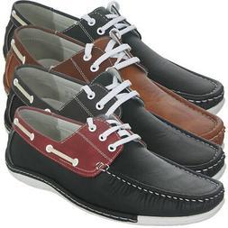 Zoyla Italia Men's Boat Shoe by Alessio, Brand NEW
