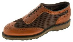 Allen Edmonds Men's Double Eagle Golf Shoe Brown Style 8461
