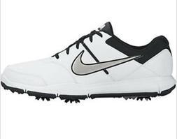 Men's Nike Durasport 4 Golf Shoes 6 Spike White With Black/C