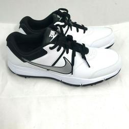 Nike Men's Durasport 4 Golf Shoes Wide Width White Black 844