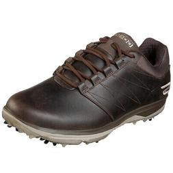 Skechers Men's GOgolf Pro 4 LX Leather Golf Shoe,  Brand New