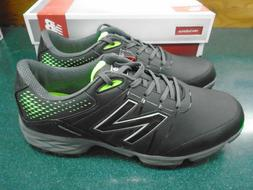 New Balance Men's Golf Shoes Model NGB4004 Black/Green Size