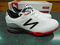 New Balance Men's Golf Shoes Model NGB4004 White/Red Size 12
