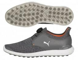 Men's Puma Ignite Disc Extreme Spikeless Golf Shoes Pearl/Si