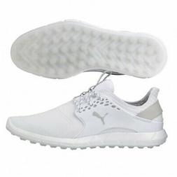 Men's Puma Ignite Pwrsport Pro Spikeless Golf Shoes White