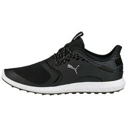 Men's Puma Ignite Pwrsport Spikeless Golf Shoes Black - Choo