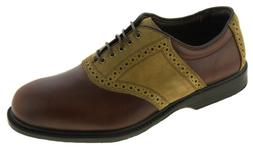 Allen Edmonds Men's Jack Nicklaus Golf Oxford Brown Style 20