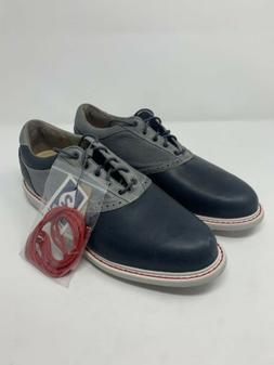 Ashworth Men's Leucadia Tour Onix/Graphite Golf Shoes G54333