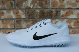 Men's Nike Lunar Control Vapor 2 Golf Shoes White Black Size
