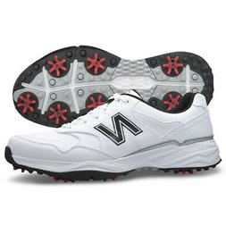 New Balance Men's NBG1701 Spiked Golf Shoes White/Black 16