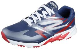 Skechers MEN'S NEW GO Golf Blade Hydrom Golf Shoes Navy/Red