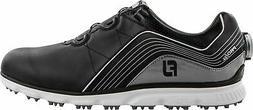 FootJoy Men's Pro/SL  Boa Golf Shoes Black/Grey - CLOSEOUTS