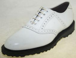 Allen Edmonds Men's Redan Golf Shoe White Style 0971 26788,