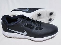 Nike Men's Size 12 Vapor Pro Golf Shoes Black/White/Metallic