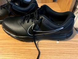 Nike Men's Size 9.5Durasport 4 Golf Shoes Black/Silver 844