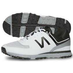 New Balance Men's Spikeless Breathable Golf Shoes White/Blac