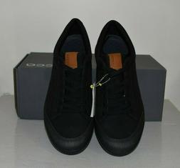 ECCO Men's Street Retro 2.0 Spikeless Golf Shoe, BLACK - Siz