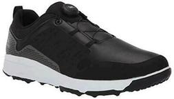 Skechers Men's Torque Twist Waterproof Golf Shoe, Black/Whit
