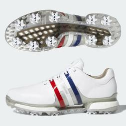 ADIDAS MEN'S TOUR 360 BOOST 2.0 GOLF SHOES US 11 M WHITE/BLU