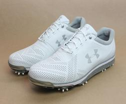 Under Armour Men's UA Tempo Tour Golf Shoes White 1270205-10