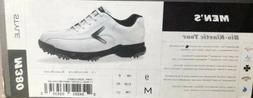 Men White Golf Shoes Size 9 CALLAWAY GOLF Bio-Kinetic Tour,