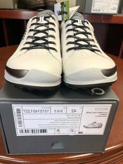 Mens Ecco Biom Hybrid 2 Golf Shoes white black