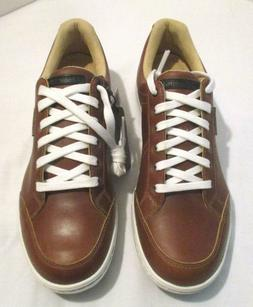 Ashworth Mens Cardiff ADC Golf Shoes Brown, Size 8.5