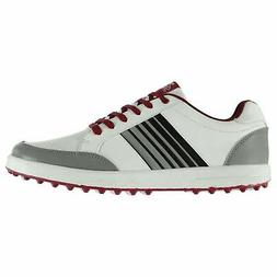 Slazenger Mens Casual Spikeless Golf Lace Up Shoes Colour Co
