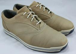 FootJoy Mens Contour Casual Spikeless Golf Shoes Beige 54258