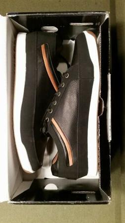 FootJoy Men's Contour Casual Spikeless Golf Shoes Black Wa