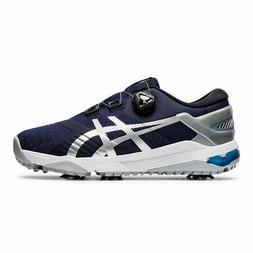 Asics Mens Duo Boa Golf Shoes Medium Width - Peacoat/Silver