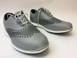 Skechers Mens Go Golf Elite Ace Light Gray Black Spikeless G