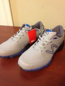 NEW Balance Mens Golf NBG2004 Shoes Size 9 Medium Grey Blue